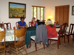 May 2012 Black Diamond Chapter Writers Retreat