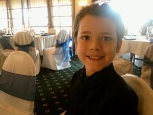alex at wedding